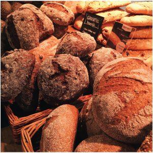 Verschillende soorten zuurdesembrood
