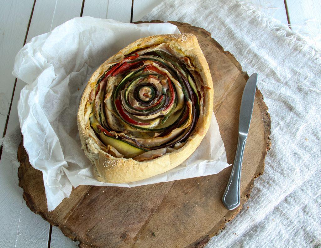 Zuurdesembrood online bestellen, quiche in brood